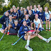 York Girls Varsity Soccer team photo at Tuesday's Western Maine Conference Class B South Girls Field Hockey game between York and Greely High Schools on 10-4-2016 @ York.  Matt Parker Photos