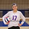 Winnacunnet Senior #17 Maddie Allen poses for a photo at Wednesday's NHIAA DIV I Girls Volleyball game between Winnacunnet and Nashua North High Schools on 10-5-2016 @ WHS.  Matt Parker Photos
