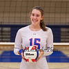 Winnacunnet Senior #15 Lily Martin poses for a photo at Wednesday's NHIAA DIV I Girls Volleyball game between Winnacunnet and Nashua North High Schools on 10-5-2016 @ WHS.  Matt Parker Photos