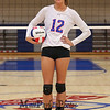 Winnacunnet Senior #12 Stephanie Rheume poses for a photo at Wednesday's NHIAA DIV I Girls Volleyball game between Winnacunnet and Nashua North High Schools on 10-5-2016 @ WHS.  Matt Parker Photos