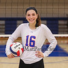 Winnacunnet Senior #16 Sophia Stefanov poses for a photo at Wednesday's NHIAA DIV I Girls Volleyball game between Winnacunnet and Nashua North High Schools on 10-5-2016 @ WHS.  Matt Parker Photos