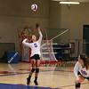 Winnacunnet Volleyball at Wednesday's NHIAA DIV I Girls Volleyball game between Winnacunnet and Nashua North High Schools on 10-5-2016 @ WHS.  Matt Parker Photos