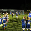 "WHS Warriors Soccer hosts a, ""Meet The Team Night"" on Thursday, October 6th from 6pm to 7:30pm at the WHS soccer field.  Boys and Girls from the Warrior community work on their soccer drills with the Winnacunnet players on 10-6-2016 @ WHS.  Matt Parker Photos"