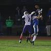 Winnacunnet Warriors Football vs The Purple Panthers of Nashua South High School on Friday Night, 10-7-2016 @ WHS.  WHS-34, NSHS-37.  Matt Parker Photos