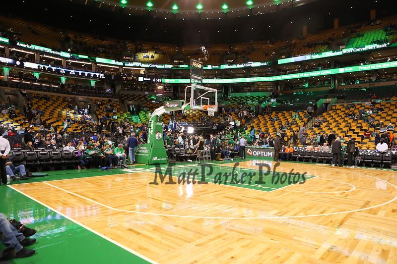 Boston Celtics vs New York Nicks NBA Basketball on Friday 11-11-2016 @ Boston Garden, Boston, MA.  Celts-115, Nicks-87.  Matt Parker Photos