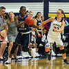 SNHU Women's Basketball with the Penmen of Southern New Hampshire University vs the Hawks of Saint Anselm College on 11-16-2016 @ SNHU.  Matt Parker Photos