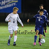 Exeter Blue Hawks Boys Soccer vs the Crusaders of Memorial High School in the NHIAA DIV I Finals on Saturday 11-5-2016 @ SNHU.  EHS-5, MHS-0.  Matt Parker Photos
