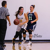 Great Bay's #21 Tasha Jarosz works to get the ball out of the corner with UMA's #21 Caitlin LaFountain defending during Tuesday's YSCC-USCAA Woman's Basketball game between Great Bay Community College and University of Maine Agusta on 11-8-2016 @ GBCC.  Matt Parker Photos