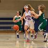 Winnacunnet Girls Basketball vs The Little Green of Central High School on Tuesday  12-13-2016 @ WHS.  Matt Parker Photos