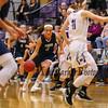 Marshwood Hawks vs York Wildcats at Thursday's Class A South Girls Basketball game between Marshwood and York High Schools on 12-15-2016 @ MHS.  MHS-45, YHS-43.  Matt Parker Photos