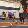 Winnacunnet Indoor Winter Track evening session at Paul Sweet Oval, UNH, Durham, NH on Sunday 12-18-2016.  Matt Parker Photos