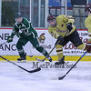 Clippers #17 Will Perry makes a pass across the ice during Wednesday's Hockey Game between Portsmouth-Newmarket and Dover High Schools on 12-21-2016 @ The Rinks at Exeter.  Matt Parker Photos