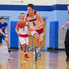 Spaulding's #5 Arie Breakfield makes a run up the court during Wednesday's Championship game at the  2016 Oyster River High School Bobcat Invitational Boys Basketball Tournament on 12-28-2016 @ Oyster River HS.  Matt Parker Photos