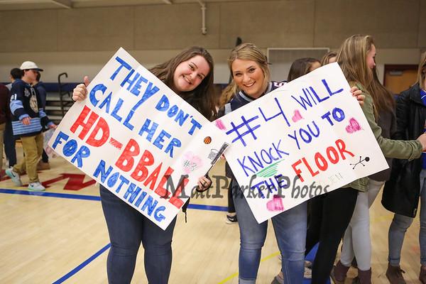 2016-12-9 WHS Girls Basketball vs Alvirne