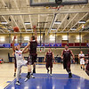 Winnacunnet Warriors NHIAA DIV I Boys Basketball vs the Broncos of Alvirne High School on Tusday @ WHS on 2-23-2016.  Matt Parker Photos