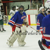 Winnacunnet Warriors Ice Hockey vs Kingswood High School at Wednesday Night's NHIAA Div II Boys Hockey game @ Pop Whalen Ice Arena, Wolfeboro, NH on 2-3-2016.  Matt Parker Photos