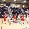 Winnacunnet Warriors Girls Basketball vs the Pioneers of Trinity High School at Wednesday's NHIAA DIV I First Round playoff game on 3-2-2016 @ WHS. WHS-53, THS-43.  Matt Parker Photos