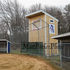 The Winnacunnet Varsity Softball Field has a new addition consisting of a score keeping field tower on Wednesday 3-23-2016 @ WHS.  Matt Parker Photos