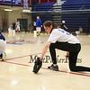 Winnacunnet Sophmore Julia Fishera works on her ground ball skills at Wednesday's practice in the gym on 3-23-2016 @ WHS.  Matt Parker Photos