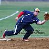 Winnacunnet's Derek Clough catching a throw to 3rd base during a drill at Wednesday's Baseball practice  on Wednesday 3-23-2016 @ WHS.  Matt Parker Photos