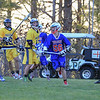 Winnacunnet Boys Lacrosse vs the Falcons of Bow High School on Friday 4-15-2016 @ Bow, NH.  WHS-6, BHS-4.  Matt Parker Photos