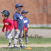 Bryce Pinsonnault covering 2nd base at the Rookies 2 game at the Hampton Youth Association Cal Ripken Opening Day celebration and baseball games on Saturday 4-16-2016 @ Tuck Field Hampton, NH.  Matt Parker Photos