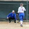 Winnacunnet Girls Varsity Softball vs Merrimack High School on Monday 4-18-2016 @ WHS.  WHS-14, MHS-1.  Matt Parker Photos