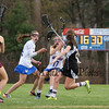 Winnacunnet Warriors JV Girls Lacrosse vs the Clippers of Portsmouth High School on Monday 4-25-2016 @ WHS.  Matt Parker Photos