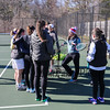Winnacunnet Spring Sports, Girls and Boys Tennis and Spring Track workout on Tuesday 4-5-2016 @ WHS.  Matt Parker Photos