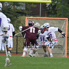 Winnacunnet Warriors Boys Lacrosse vs the Clippers of Portsmouth High School on Friday 5-13-2016 @ WHS.  WHS-9, PHS-10.  Matt Parker Photos