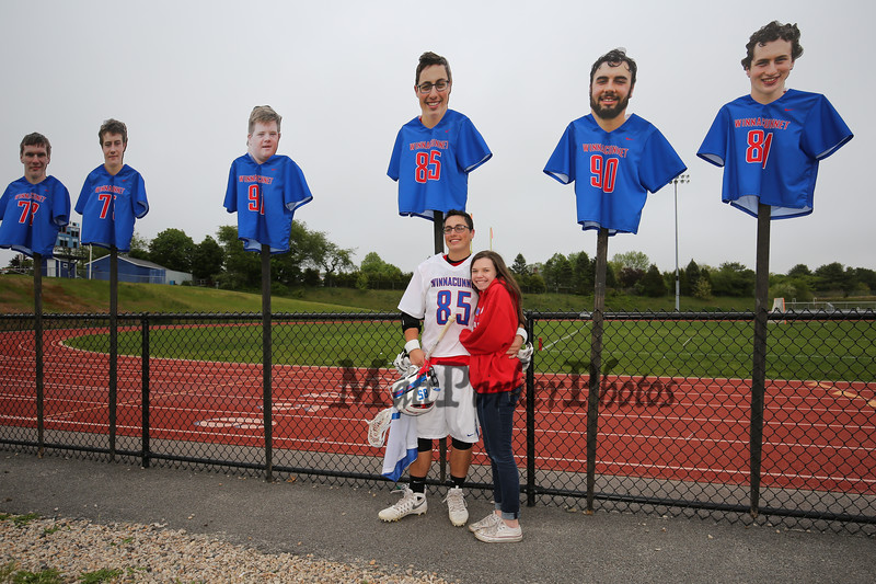 Winnacunnet Boys Lacrosse and Senior Day vs the Red Raiders of Spaulding High School on Tuesday 5-24-2016 @ WHS.  WHS-17, SHS-4.  Matt Parker Photos