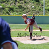 Portsmouth's relief pitcher #99 Angus Moss throws a pitch during Saturday's U9-10 NH Little League State Finals between Portsmouth and Goffstown at Grappone Park, Concord, NH on 7-23-2016.  Matt Parker Photos