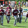 Portsmouth players head off the field after their win over Goffstown in the 1st game of a 3 game series at Saturday's U9-10 NH Little League State Finals between Portsmouth and Goffstown at Grappone Park, Concord, NH on 7-23-2016.  Matt Parker Photos