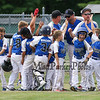 Seacoast playes and Coaches head back to the field for game 2 after their loss to Hudson in the 1st game of a 2 game series, which Seacoast prevailed, at Saturday's 2016 NH Cal Ripken League 8 Year Old State Tournament Championships between Seacoast and Hudson on Saturday 7-30-2016 @ Roger Allen Park, Rochester, NH. Sea-7, Hud-9.  Matt Parker Photos