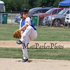 Seacoast's Pitcher #20 Sammy Souther winds up in his pitch routine at Saturday's 2016 NH Cal Ripken League 8 Year Old State Tournament between Seacoast and Hudson on Saturday 7-30-2016 @ Roger Allen Park, Rochester, NH. Sea-7, Hud-9.  Matt Parker Photos