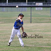 Seacoast's outfielder #23 Justin Coates throws the ball to the infield off a Hudson hit  at Saturday's 2016 NH Cal Ripken League 8 Year Old State Tournament Championships between Seacoast and Hudson on Saturday 7-30-2016 @ Roger Allen Park, Rochester, NH. Sea-7, Hud-9.  Matt Parker Photos