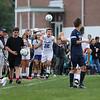 Winnacunnet's #12 Cam Charette throws the ball inbounds during Friday's NHIAA DIV I Boy Soccer game between Winnacunnet and Exeter High Schools on 9-23-2016 @ WHS.  Matt Parker  Photos