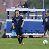 Exeter's #7 Tucker Gurn makes a pass during Friday's NHIAA DIV I Boy Soccer game between Winnacunnet and Exeter High Schools on 9-23-2016 @ WHS.  Matt Parker  Photos