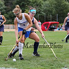 Winnacunnet's #4 Courtney Ingham protects the ball from Exeter's #5 Valerie Damsell during Friday's NHIAA DIV 1 Girls Field Hockey game between Winnacunnet and Exeter High Schools on 9-23-2016 @ WHS.  Matt Parker Photos