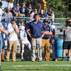 York's Coach Randy Small coaching from the sidelines at Saturday's Campbell Conference Football game between York and Kennebunk High School on 9-24-2016 @ Kennebunk, ME.  Matt Parker Photos
