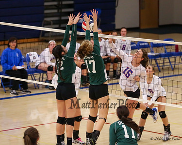 2016-9-26 WHS Girls Volleyball vs Dover