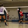 Winnacunnet Warriors NHIAA DIV I Girls Volleyball vs the Green Wave of Dover High School on Monday 9-26-2016 @ WHS.  WHS-1, DHS-3.  Matt Parker Photos