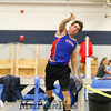 Winnacunnet's Philip Antonio throws the shot 35-00.25 in the Boys Shot Put during Sunday's NH Indoor Track and Field League Evening Session @ The Paul Sweet Oval @ UNH on 1-10-2016.  Matt Parker Photos