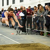 Winnacunnet's Savanna Spencer takes 4th in the Girls Long Jump with a leap of 15-02.00 during Sunday's NH Indoor Track and Field League Evening Session @ The Paul Sweet Oval @ UNH on 1-10-2016.  Matt Parker Photos