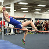 Winnacunnet's Sophia Winnes jumps 4-06.00 in the Girls High Jump during Sunday's NH Indoor Track and Field League Evening Session @ The Paul Sweet Oval @ UNH on 1-10-2016.  Matt Parker Photos