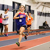 Winnacunnet's Meaghan Kacmarcik heads down the back stretch finishing with a time of 5:50.10 in the Girls 1500m run during Sunday's NH Indoor Track and Field League Evening Session @ The Paul Sweet Oval @ UNH on 1-10-2016.  Matt Parker Photos