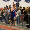 Winnacunnet's Brandon Hanley finishing strong in the Boys 300m Dash finishing with a time of 40.70 during Sunday's NH Indoor Track and Field League Evening Session @ The Paul Sweet Oval @ UNH on 1-10-2016.  Matt Parker Photos