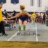 Winnacunnet's Sophia Winnes  jumps 13-04.00 in the Girls Long Jump  during Sunday's NH Indoor Track and Field League Evening Session @ The Paul Sweet Oval @ UNH on 1-10-2016.  Matt Parker Photos