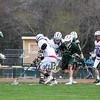 Winnacunnet Warriors Boys Lacrosse vs the Knights of Kingswood High School on Friday @ WHS.  WHS-12, KHS-2