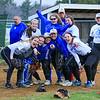 Winnacunnet Girls Softball preseason game vs Bishop Brady on Friday 4-8-2016 @ WHS.  Matt Parker Photos